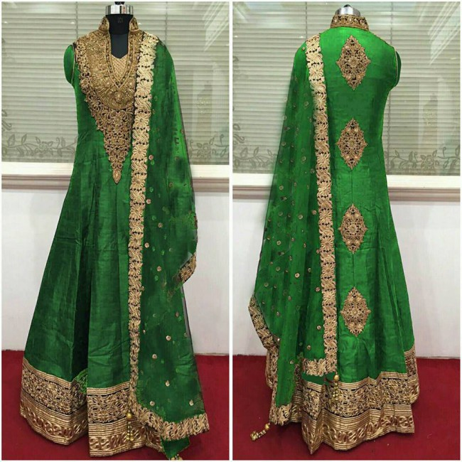 Indo Western Designer Wedding-Bridal Wear Suits New Fashion Dress-4