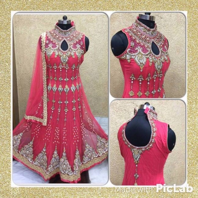 Indo Western Designer Wedding-Bridal Wear Suits New Fashion Dress-5