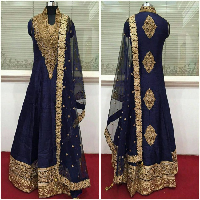 Indo Western Designer Wedding-Bridal Wear Suits New Fashion Dress-6
