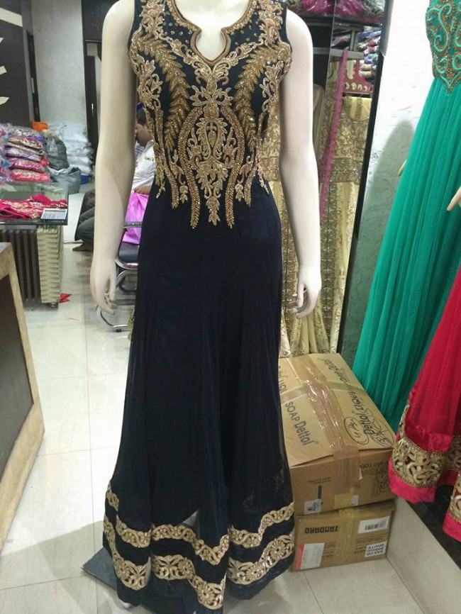 Indo Western Designer Wedding-Bridal Wear Suits New Fashion Dress-8