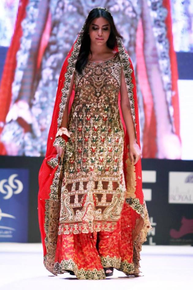 Dress Designer Asim Jofa International New Wedding-Bridal Fashion Festival in Doha-10