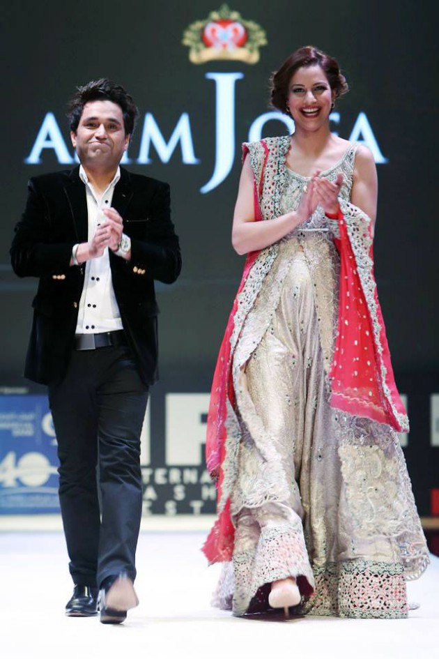 Dress Designer Asim Jofa International New Wedding-Bridal Fashion Festival in Doha-2