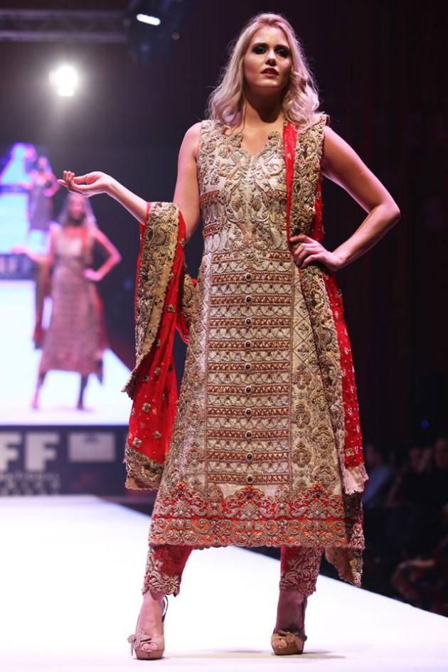Dress Designer Asim Jofa International New Wedding-Bridal Fashion Festival in Doha-4