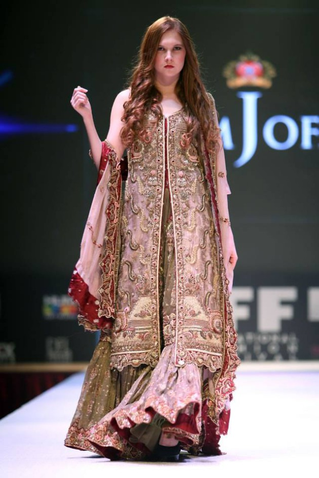 Dress Designer Asim Jofa International New Wedding-Bridal Fashion Festival in Doha-8