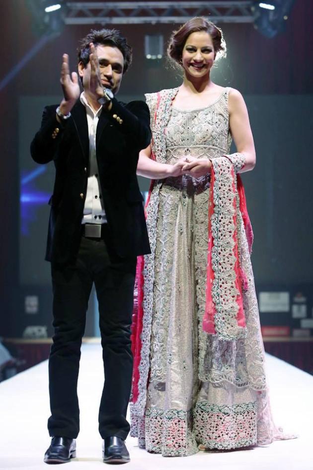 Dress Designer Asim Jofa International New Wedding-Bridal Fashion Festival in Doha-9