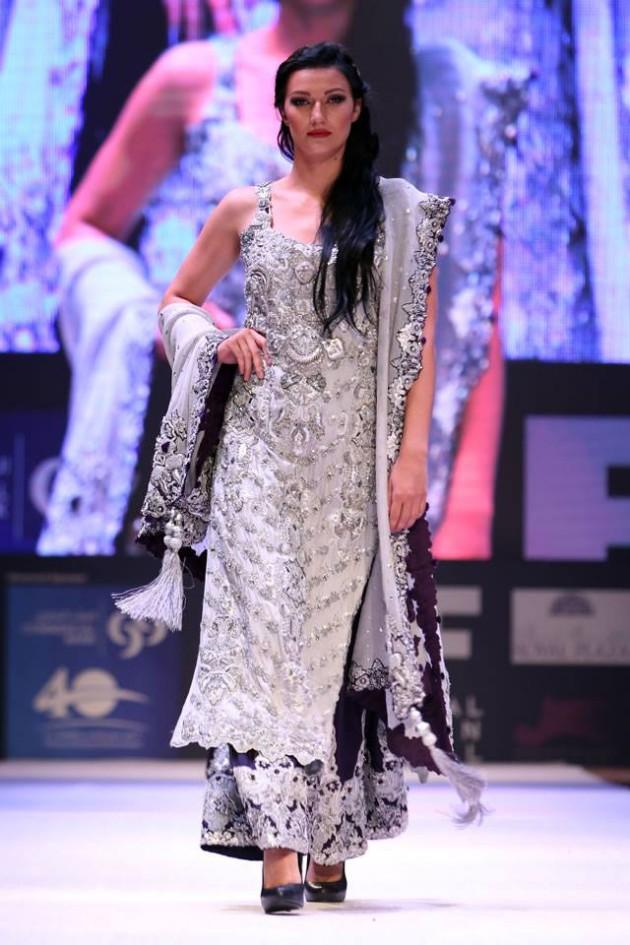 Dress Designer Asim Jofa International New Wedding-Bridal Fashion Festival in Doha-