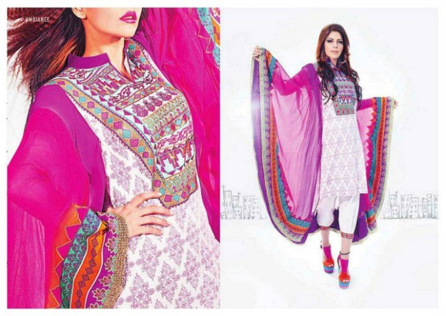 Hadiqa Kiani New Fashionable Dresses For Girls-Women Latest Outfits-2