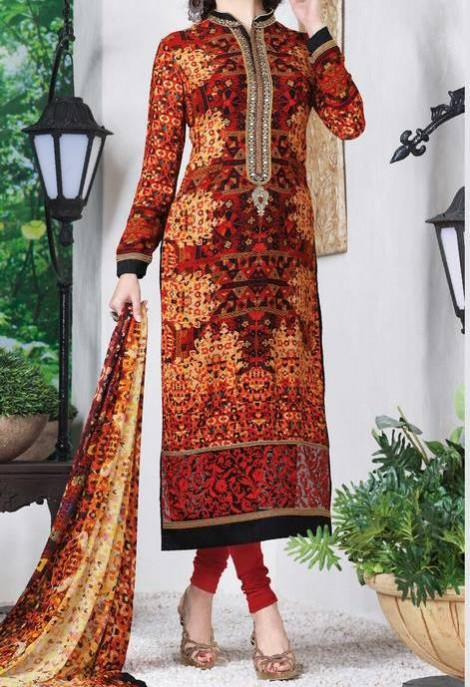 New Bright Colours Salwar Kameez Images with Latest Fashion Dress Design-2