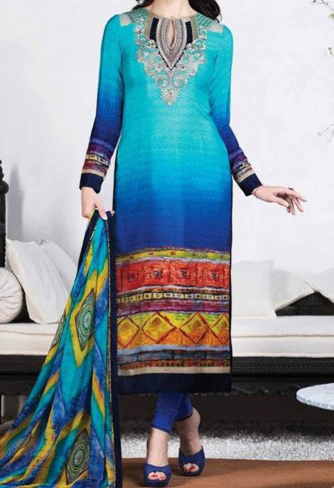 New Bright Colours Salwar Kameez Images with Latest Fashion Dress Design-3