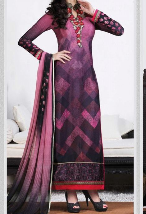 New Bright Colours Salwar Kameez Images with Latest Fashion Dress Design-5