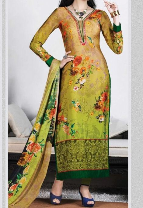 New Bright Colours Salwar Kameez Images with Latest Fashion Dress Design-6
