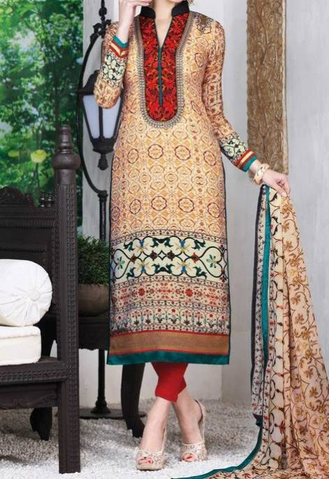 New Bright Colours Salwar Kameez Images with Latest Fashion Dress Design-8