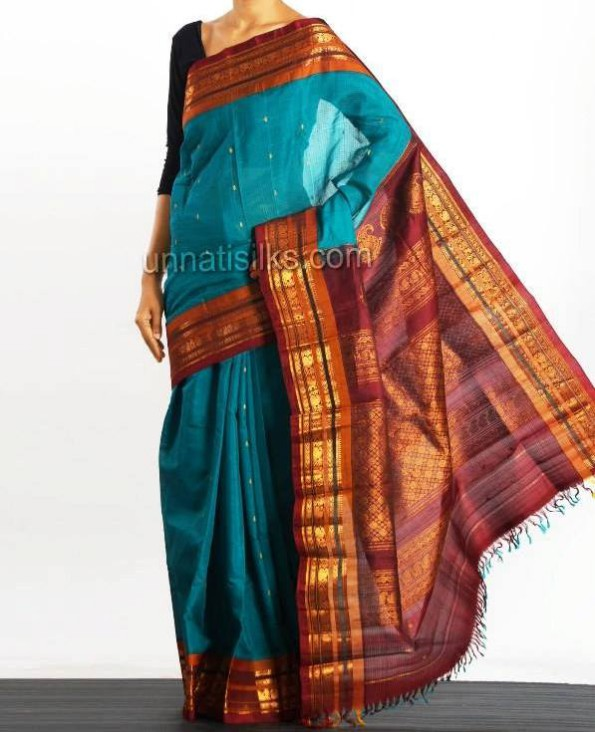 New Fashion Dress Designer Unnatisilks Traditional Silk Sarees-Sari Designs-5