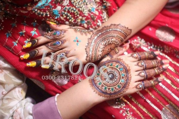 New Wedding-Bridal Latest Mehndi Designs for Hands and Feet Pictures-Images-5