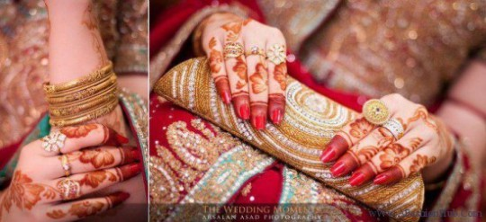 New Wedding-Bridal Latest Mehndi Designs for Hands and Feet Pictures-Images-8
