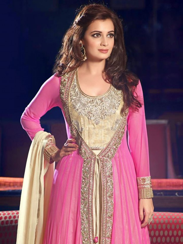 Bollywood-Indian Famous Actress Dia Mirza Stylish Suits by Brides-Galleria-2