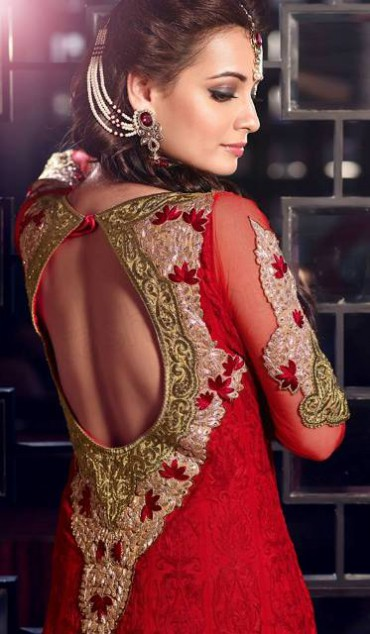 Bollywood-Indian Famous Actress Dia Mirza Stylish Suits by Brides-Galleria-5