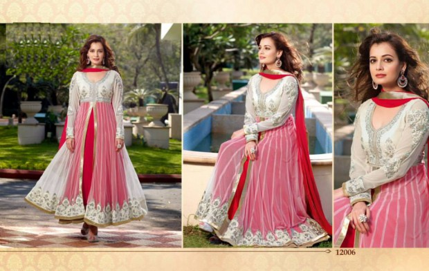 Bollywood-Indian Famous Actress Dia Mirza Stylish Suits by Brides-Galleria-