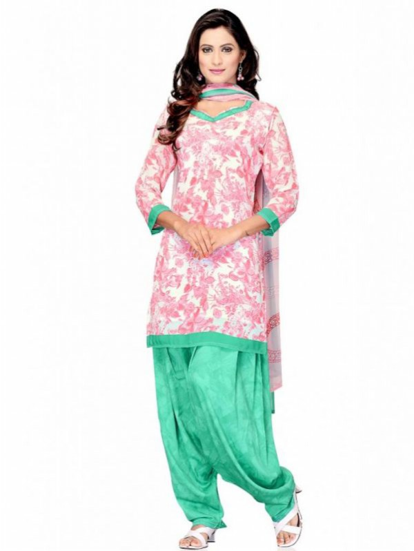 Indian Patiala Salwar Kameez Designs Picture Gallery Night-Evening Party Wear Dress-4