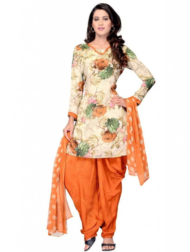 Indian Patiala Salwar Kameez Designs Picture Gallery Night-Evening Party Wear Dress-