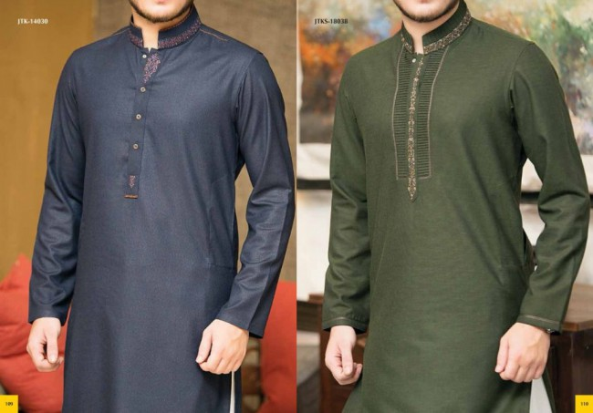 Junaid Jamshed Smart j. Men-Boys Winter Wear Kurta-Pajama-Shalwar New Fashion Catalogue-2