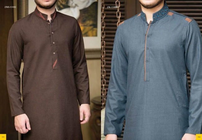 Junaid Jamshed Smart j. Men-Boys Winter Wear Kurta-Pajama-Shalwar New Fashion Catalogue-7