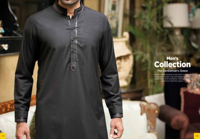 Junaid Jamshed Smart j. Men-Boys Winter Wear Kurta-Pajama-Shalwar New Fashion Catalogue-9