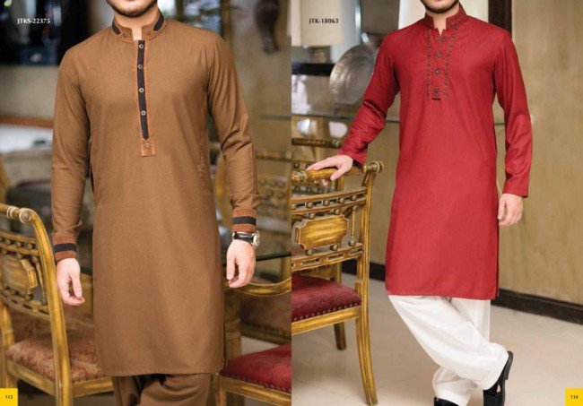 Junaid Jamshed Smart j. Men-Boys Winter Wear Kurta-Pajama-Shalwar New Fashion Catalogue-