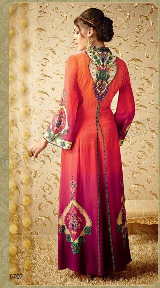 Latest Beautiful Printed Embroidered Outfits Girls Suits by Natasha Couture-8