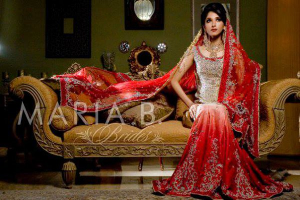 Latest Fashionable Dress Designer Maria B Wedding-Bridal for Brides-10