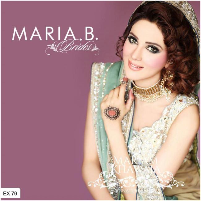 Latest Fashionable Dress Designer Maria B Wedding-Bridal for Brides-2