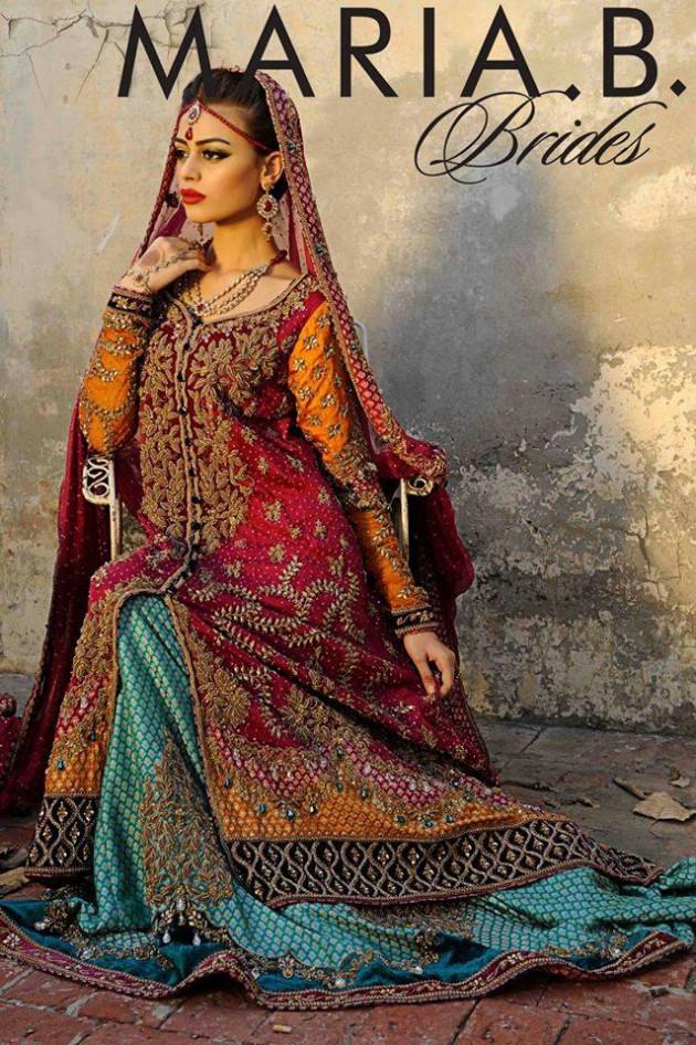 Latest Fashionable Dress Designer Maria B Wedding-Bridal for Brides-3