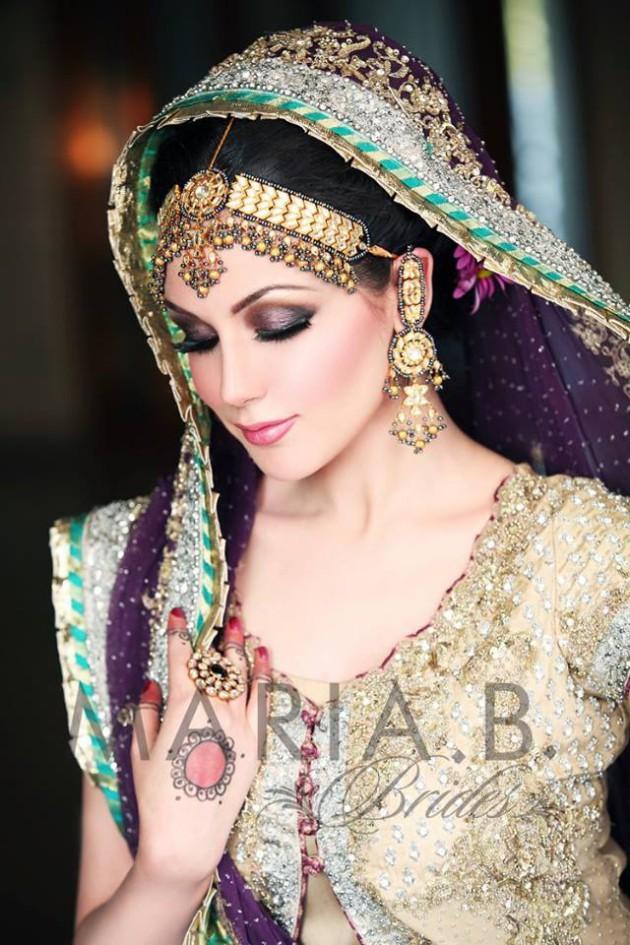 Latest Fashionable Dress Designer Maria B Wedding-Bridal for Brides-4