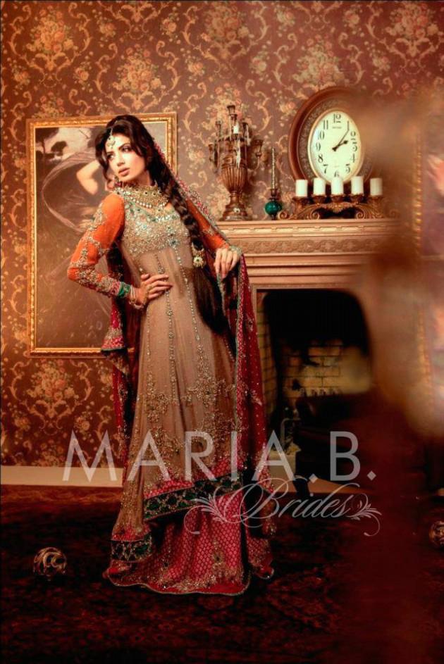 Latest Fashionable Dress Designer Maria B Wedding-Bridal for Brides-8