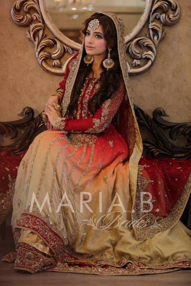 Latest Fashionable Dress Designer Maria B Wedding-Bridal for Brides-9