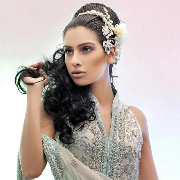 Latest Indian Wedding-Bridal New Fashionable Stylish Hair Cuts-Hairstyles-3