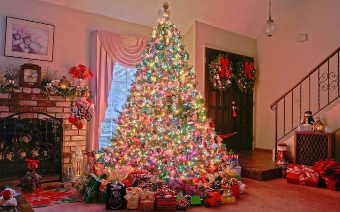 merry christmas x mass beautiful tree lights decoration eve idea plan greeting