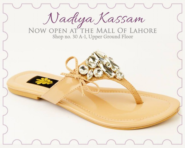 Nadiya Kassam Newest Winter Footwear-Shoes-Chappal for Girls-Women-3