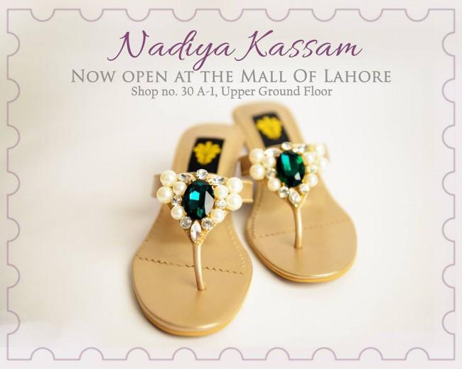 Nadiya Kassam Newest Winter Footwear-Shoes-Chappal for Girls-Women-4