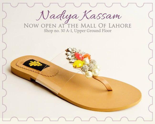 Nadiya Kassam Newest Winter Footwear-Shoes-Chappal for Girls-Women-6