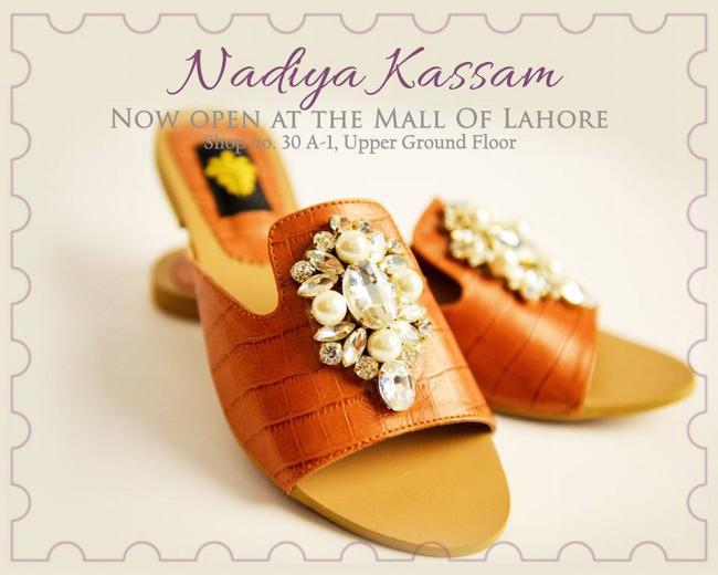 Nadiya Kassam Newest Winter Footwear-Shoes-Chappal for Girls-Women-7