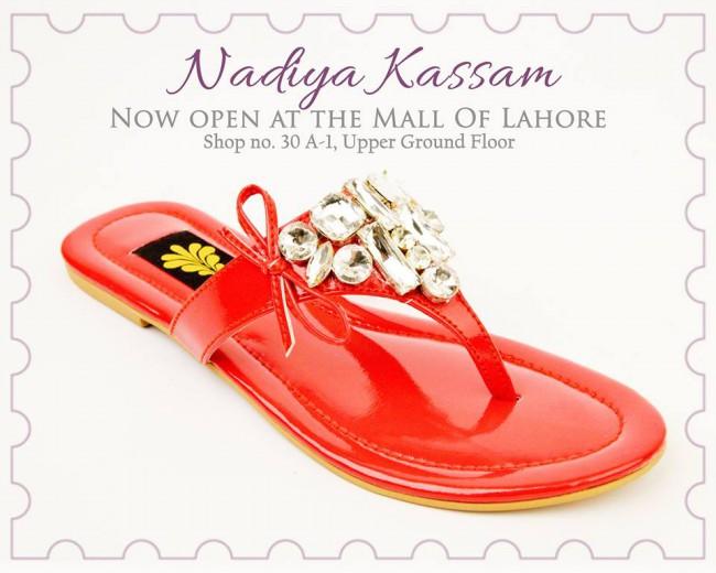 Nadiya Kassam Newest Winter Footwear-Shoes-Chappal for Girls-Women-
