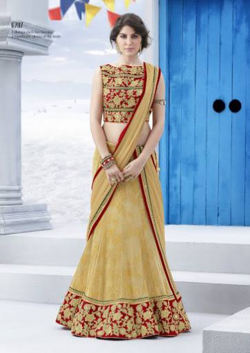 Trendy Diwali Zeena Lehangas-Choli-Sharara New Fashion by Saheli Couture-10