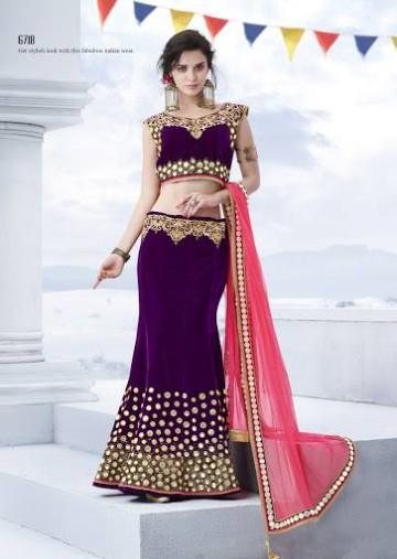 Trendy Diwali Zeena Lehangas-Choli-Sharara New Fashion by Saheli Couture-2