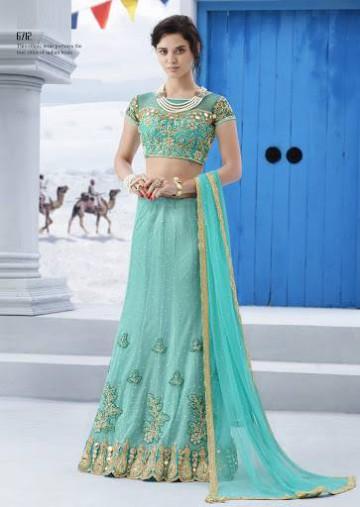 Trendy Diwali Zeena Lehangas-Choli-Sharara New Fashion by Saheli Couture-3