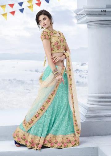 Trendy Diwali Zeena Lehangas-Choli-Sharara New Fashion by Saheli Couture-4