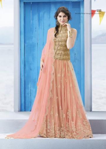 Trendy Diwali Zeena Lehangas-Choli-Sharara New Fashion by Saheli Couture-5