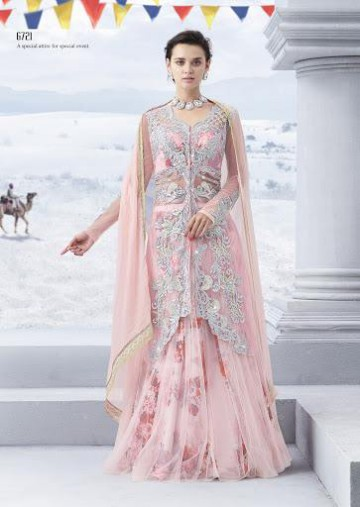 Trendy Diwali Zeena Lehangas-Choli-Sharara New Fashion by Saheli Couture-7