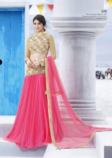 Trendy Diwali Zeena Lehangas-Choli-Sharara New Fashion by Saheli Couture-8