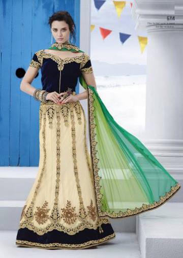 Trendy Diwali Zeena Lehangas-Choli-Sharara New Fashion by Saheli Couture-9